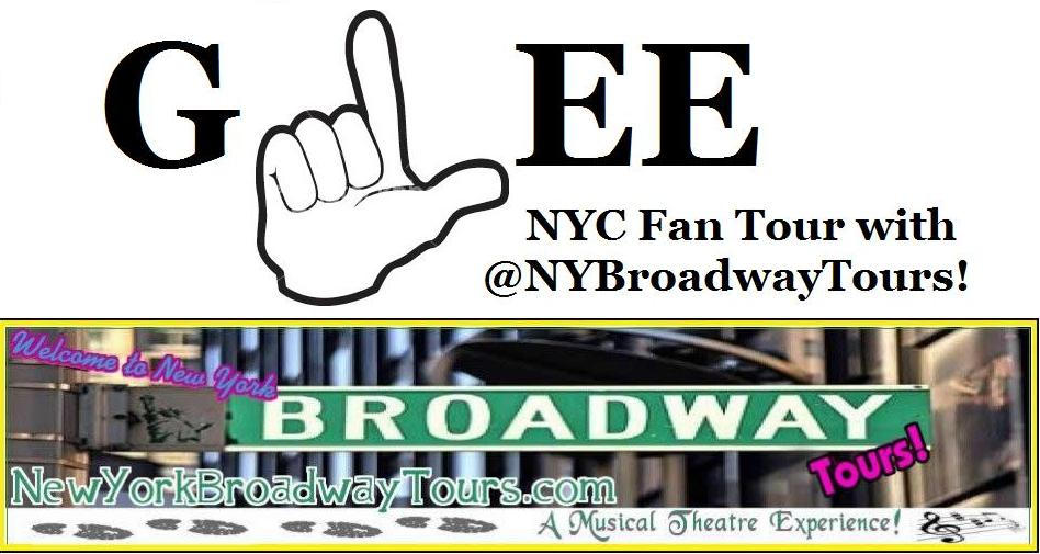 A GLEE Broadway Fan Walking Tour!