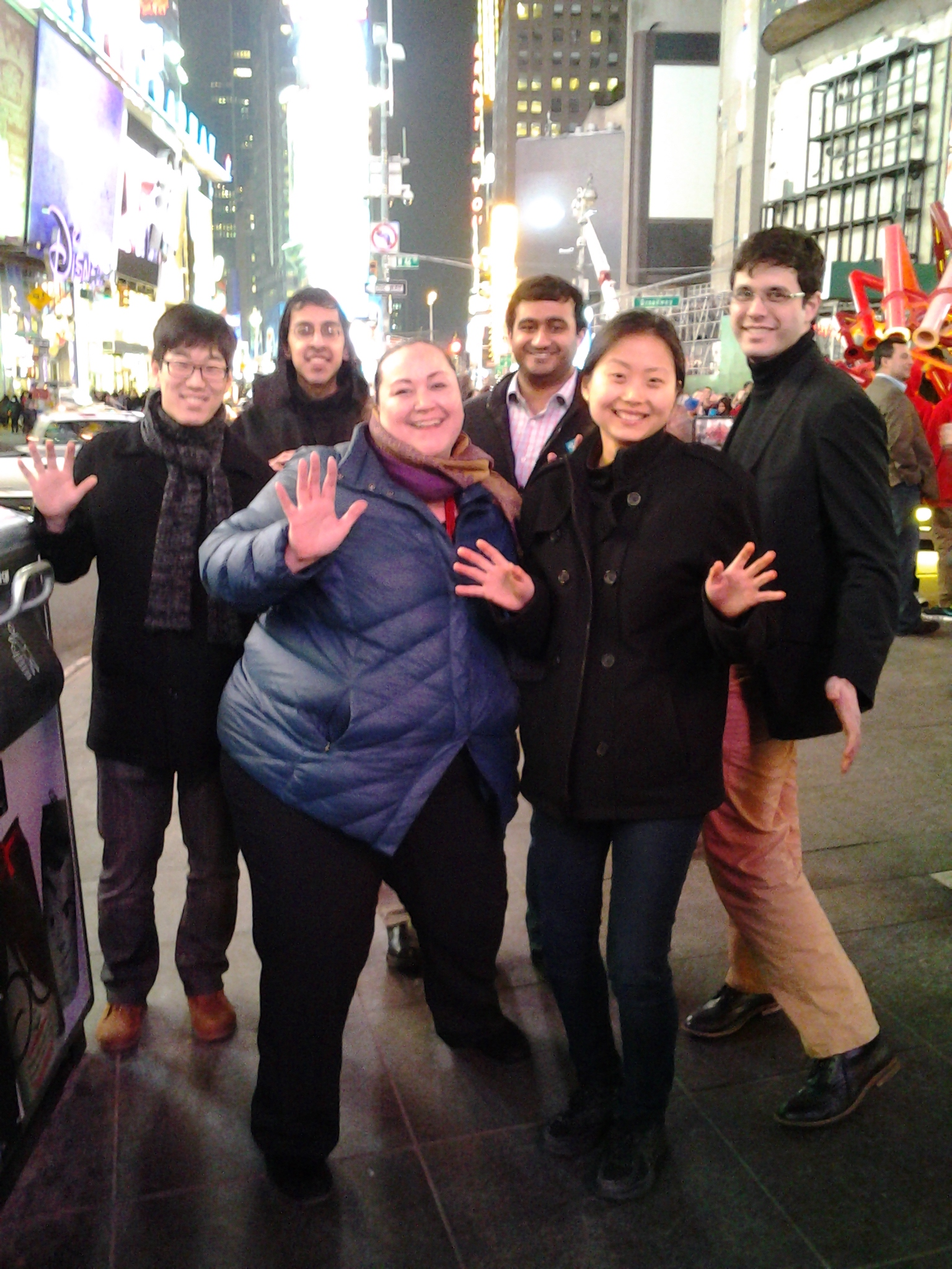 Haunted Broadway Tour does the Time Warp in Times Square!