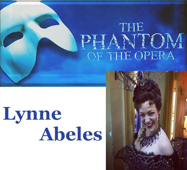 Phantom of the Opera star LYNNE ABELES